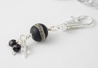 Black Handbag Charm