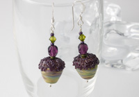Acorn Lampwork Earrings