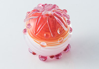 Lampwork Dahlia Bead alternative view 2