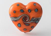 Lampwork Heart Bead