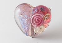 Dichroic Heart Bead alternative view 1