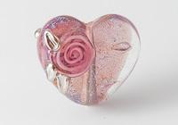Dichroic Heart Bead alternative view 2