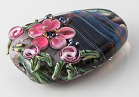 Flowery Lampwork Bead alternative view 1