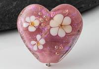 Lampwork Heart Bead alternative view 1
