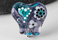 Dichroic Lampwork Elephant Bead alternative view 1