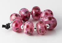 Pink Fritty Beads alternative view 1