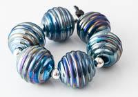 Metallic Lampwork Beads