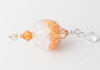 Dahlia Lampwork Pendant alternative view 1