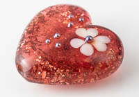 Lampwork Heart Bead alternative view 1