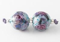 Rose Lampwork Beads