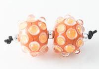 Bumpy Lampwork Beads