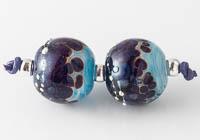 Lampwork Swirly Beads
