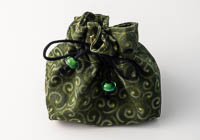 Green Jewellery Pouch alternative view 1