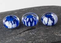 Blue Lampwork Charm Beads alternative view 1