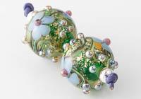 Dichroic Lampwork Beads