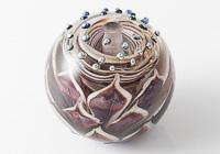 Dahlia Lampwork Bead alternative view 1