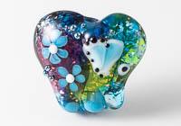 Glittery Lampwork Elephant Bead