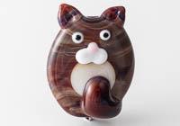 Lampwork Cat Bead