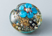 Shimmery Lampwork Bead