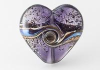 Sparkly Lampwork Heart Bead