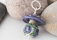 Toadstool Lampwork Pendant alternative view 1
