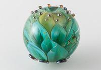 Dahlia Lampwork Bead