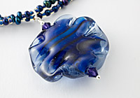 Art Flower Lampwork Necklace