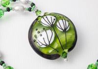 Green Flower Necklace alternative view 2