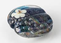 Lampwork Dichroic Focal Bead alternative view 1