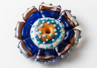 Flower Lampwork Bead
