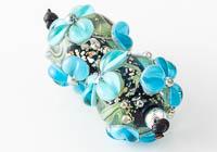 Flowery Lampwork Beads alternative view 2