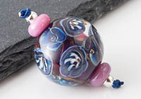 Lampwork Flower Bead Set