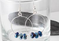 Silver Hoop Earrings alternative view 2