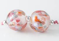 Glittery Lampwork Beads