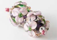 Flowery Lampwork Beads alternative view 1