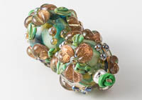 Flowery Lampwork Beads alternative view 1