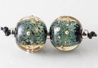 Lampwork Spotty Beads