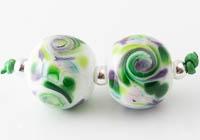 Swirly Lampwork Beads
