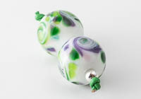 Swirly Lampwork Beads alternative view 1
