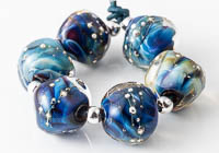 Lampwork Nugget Beads