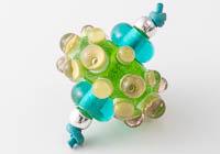 Lampwork Bumpy Bead Set