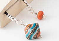 Bicone Lampwork Bookmark