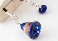 Blue Lampwork Bookmark