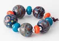 Swirly Lampwork Beads alternative view 2