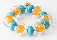 Dotty Lampwork Bead Set