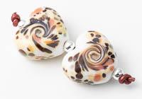 Lampwork Heart Beads alternative view 1