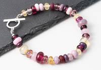 Summer Lampwork Bracelet