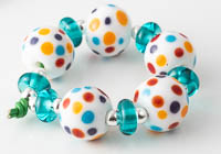 Spotty Lampwork Beads alternative view 1