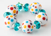 Spotty Lampwork Beads alternative view 2