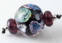 Flowery Murrini Lampwork Bead